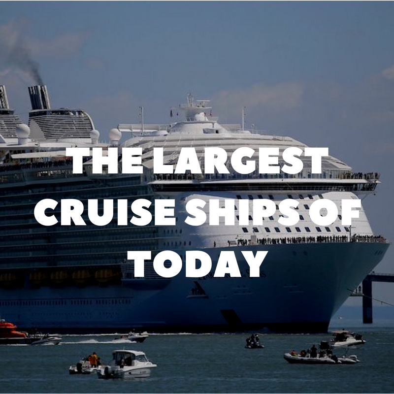 The Largest Cruise Ships Of Today And Why They Won 39 T Be