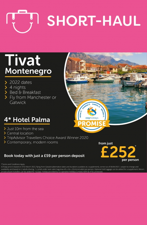 Great Mediterranean holiday deal Jan 2022