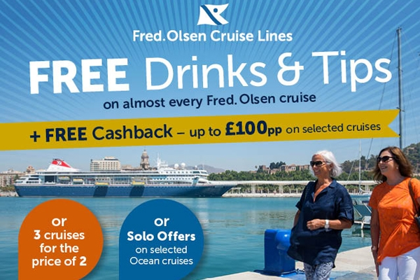 Gred Olsen Free Drinls and Tips