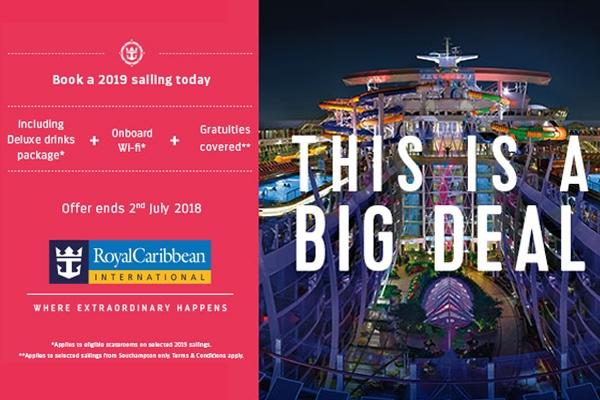 Royal Caribbean International May 2019 Deals