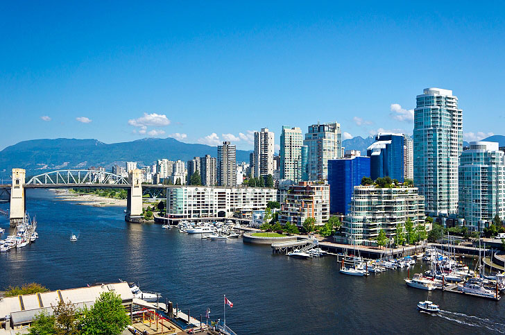 Beaufiful View Of Vancouver Canada