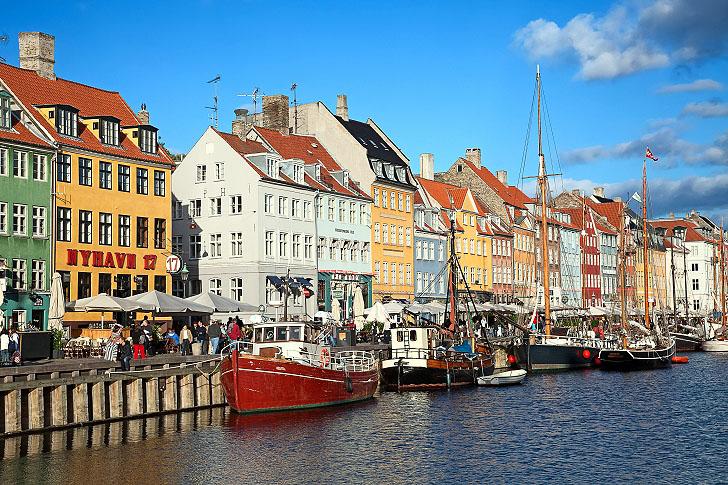 Nyhave Promenade Copenhagen