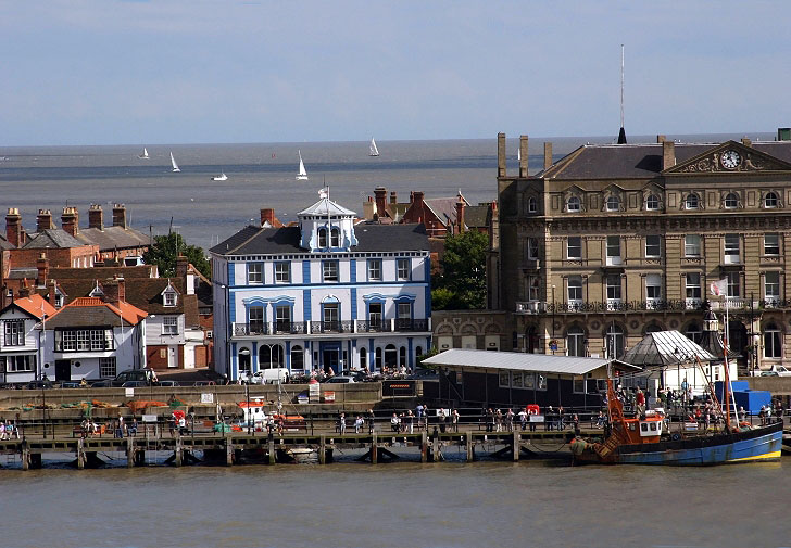 The Quayside At Harwich