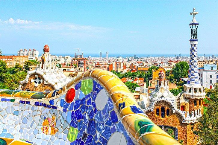 Cerramic Mosiac Park Guell Barcelona