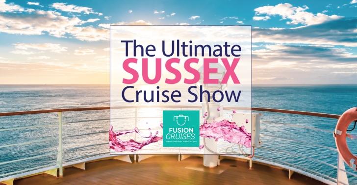 Fusion Cruises presents the Sussex Cruiseshow 2019
