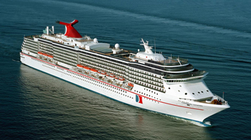 Carnival Legend exterior view