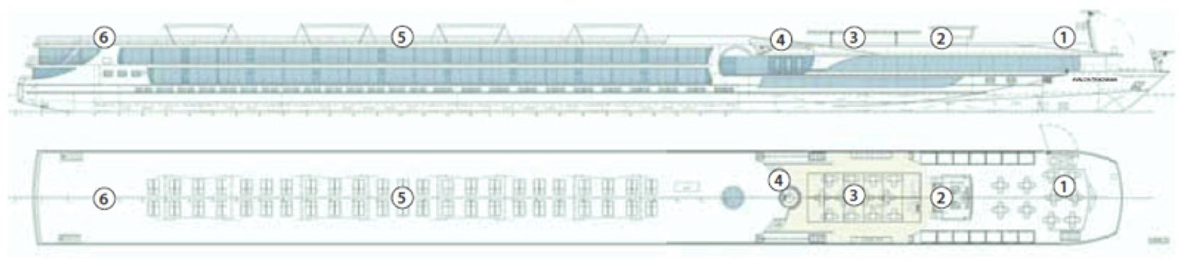 Avalon Vista-deckplan-Sky Deck