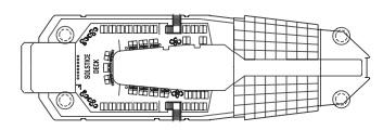 Celebrity Silhouette-deckplan-Deck 16