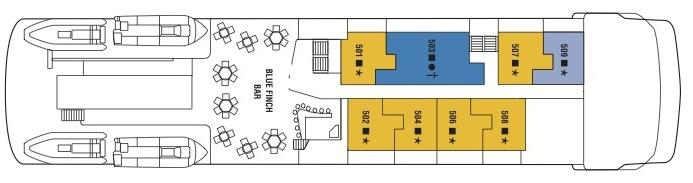 Celebrity Xpedition-deckplan-Deck 5- Panorama Deck