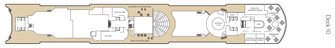 Queen Elizabeth-deckplan-Deck 10