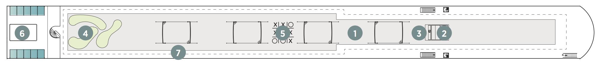 Emerald Dawn-deckplan-Sun Deck
