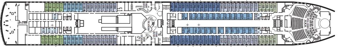 Zuiderdam-deckplan-Deck 1