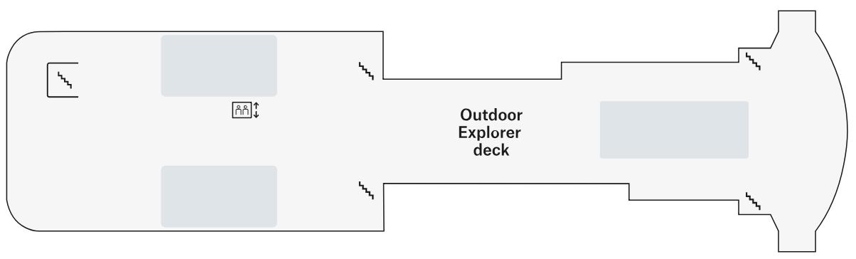 MS Spitsbergen-deckplan-Deck 8