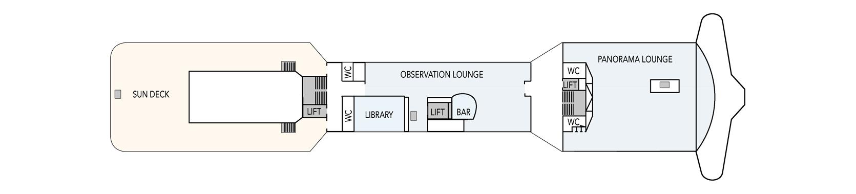 MS Polarlys-deckplan-Deck 7