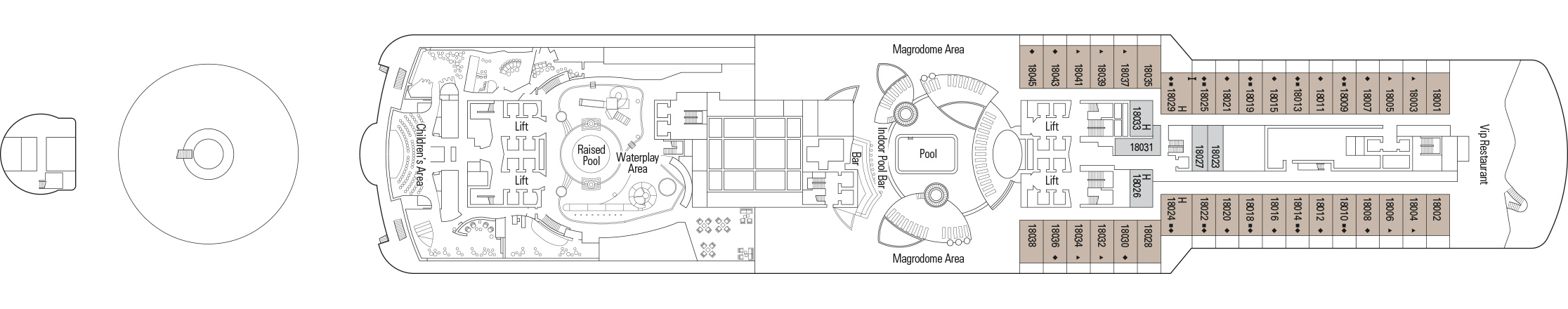 MSC Seaview-deckplan-Deck 18