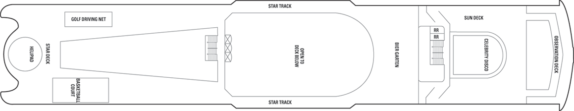 Norwegian Spirit-deckplan-Deck 13