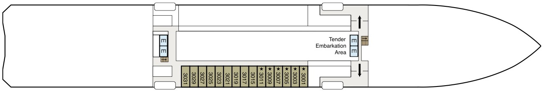 Regatta-deckplan-Deck 3