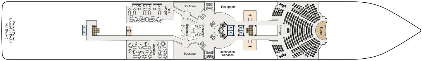Riviera-deckplan-Deck 5