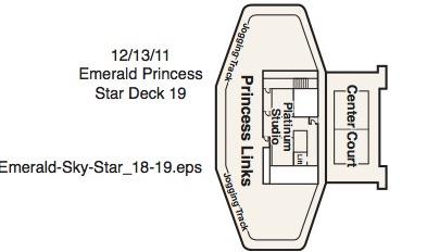 Emerald Princess-deckplan-Deck 19