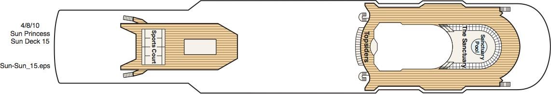 Sun Princess-deckplan-Deck 15