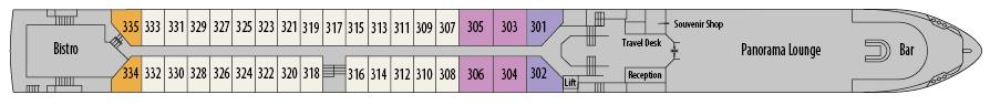 MS Geoffrey Chaucer-deckplan-Diamond Deck