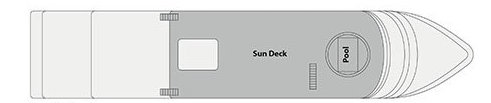 MS Movenpick Darakum-deckplan-Sun Deck
