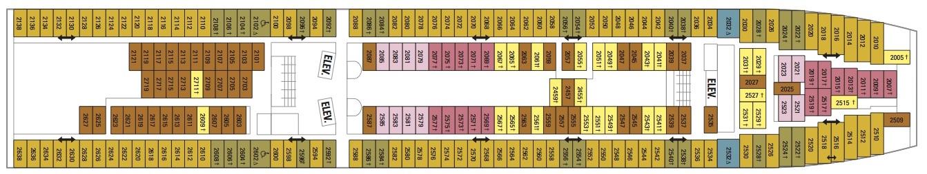 Vision of the Seas-deckplan-Deck 2