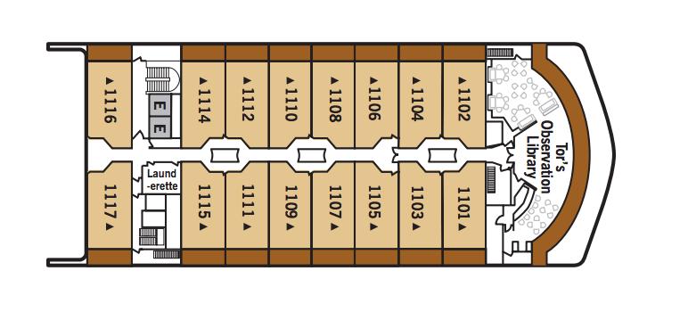 Silver Spirit-deckplan-Deck 11