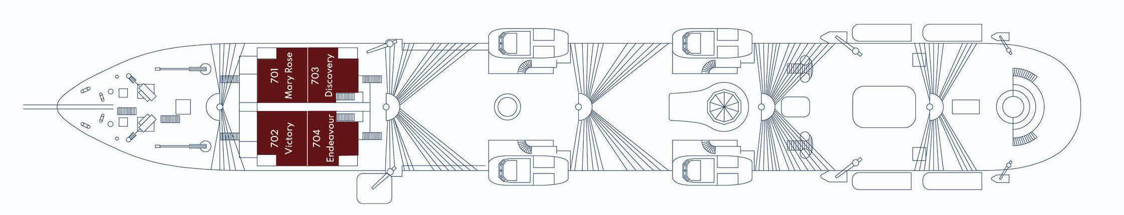 Golden Horizon-deckplan-Upper Deck