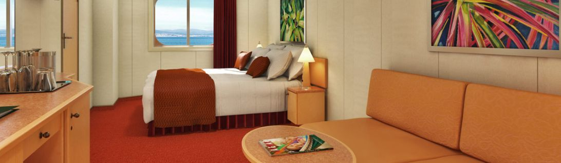 Carnival Fascination-stateroom-Ocean View