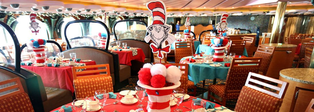 Carnival Fascination-dining-Green Eggs & Ham Breakfast