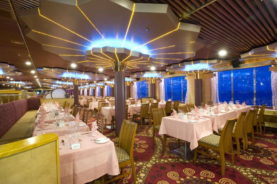Carnival Fascination-dining-Imagination & Sensation Dining Rooms