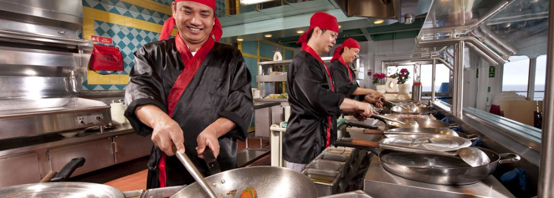 Carnival Fascination-dining-Mongolian Wok