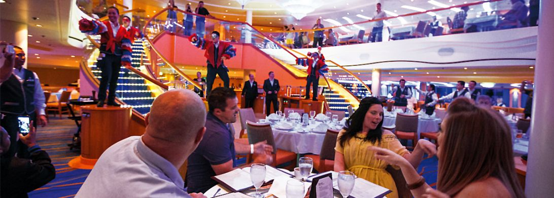 Carnival Fascination-dining-Signature Dining