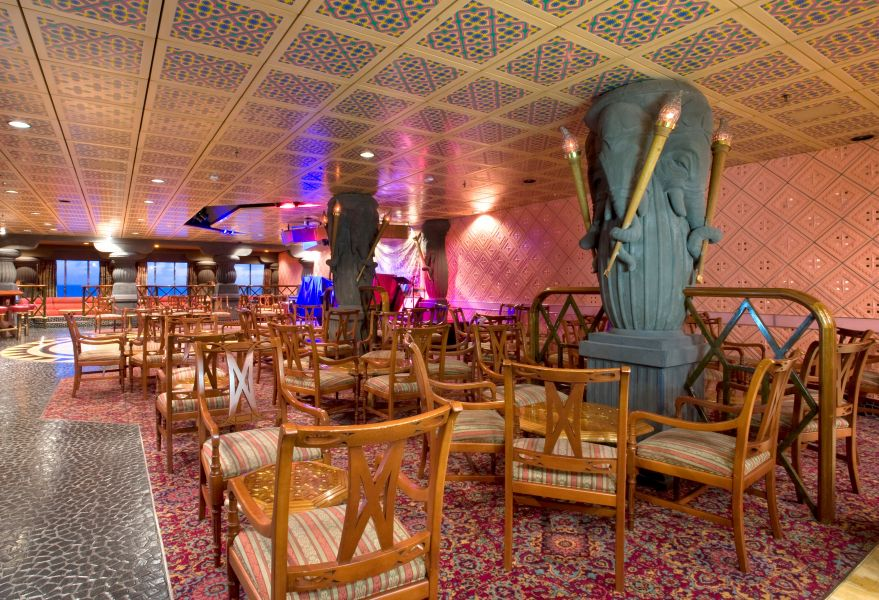 Carnival Fascination-entertaiment-Passage to India Lounge