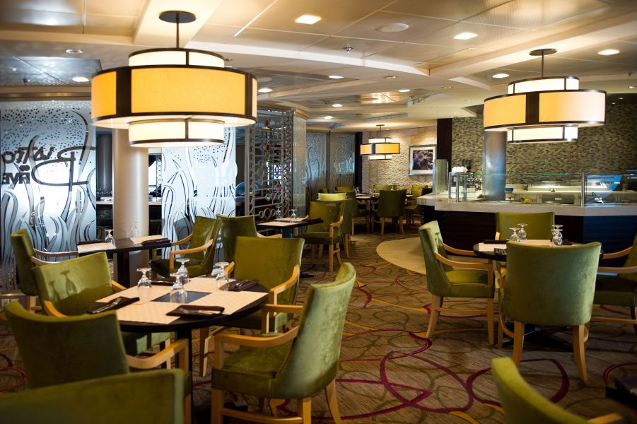 Celebrity Constellation-dining-Bistro on Five