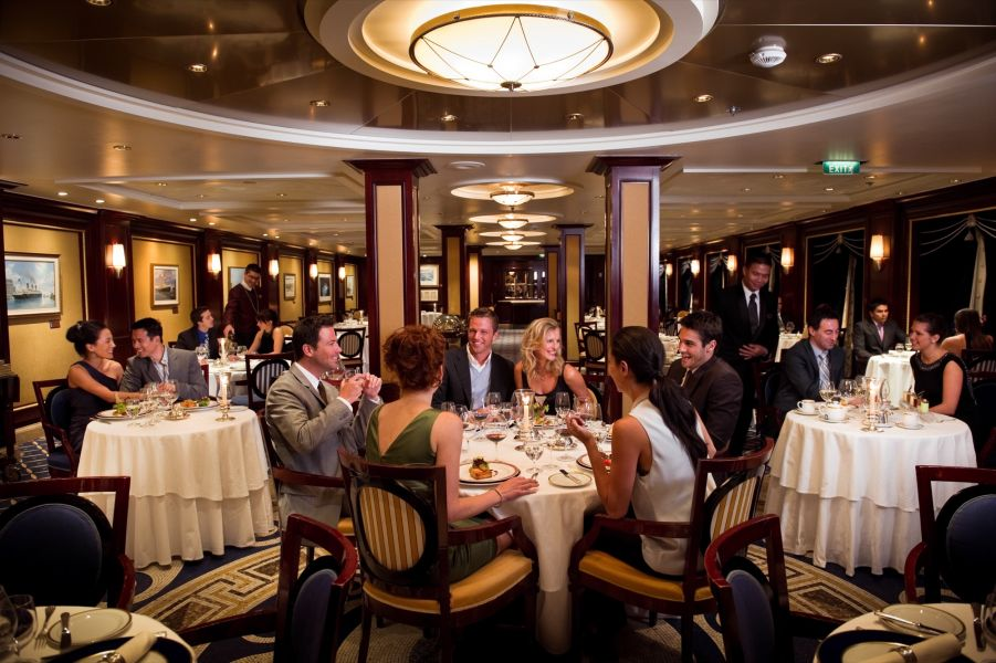 Celebrity Constellation-dining-Ocean Liners Restaurant