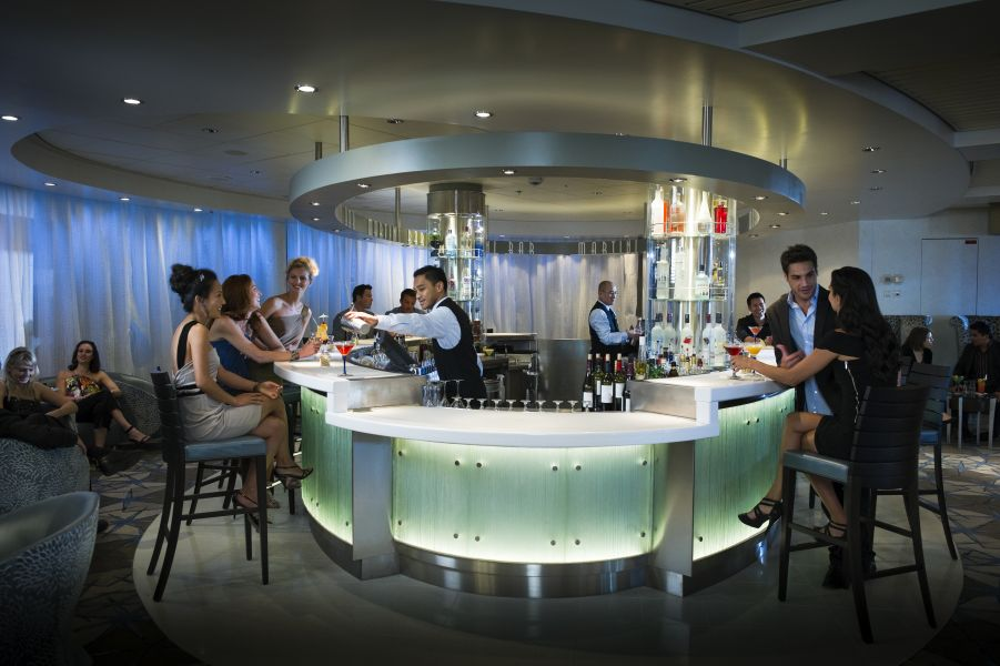 Celebrity Constellation-entertaiment-Martini Bar & Crush