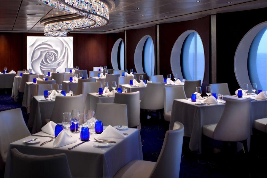 Celebrity Infinity-dining-Blu