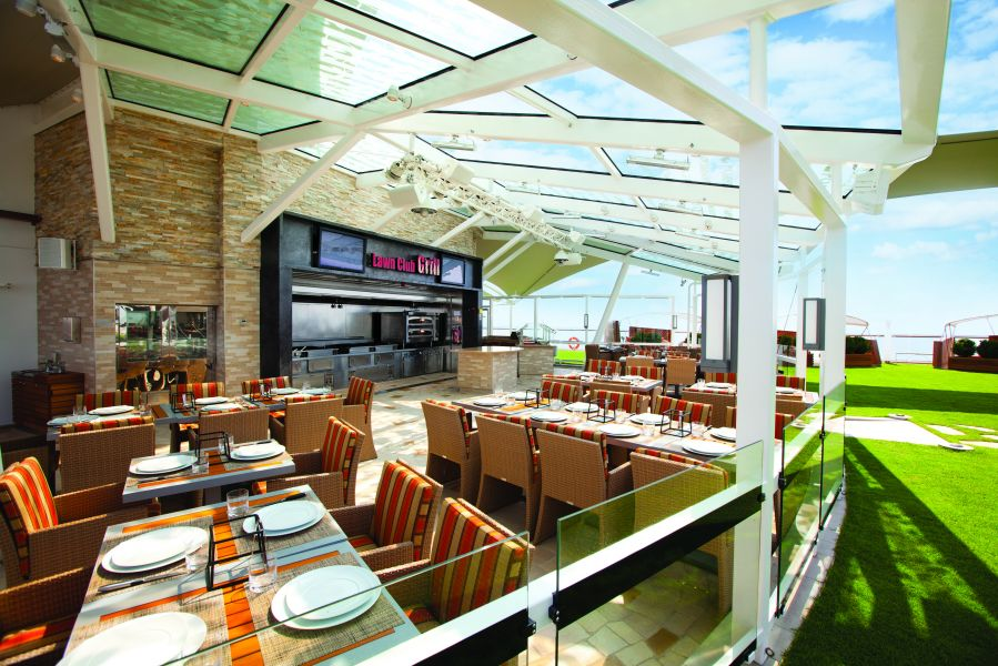 Celebrity Silhouette-dining-The Lawn Club Grill