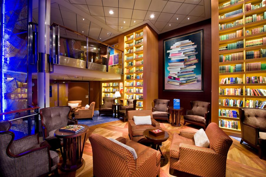 Celebrity Solstice-entertaiment-Library