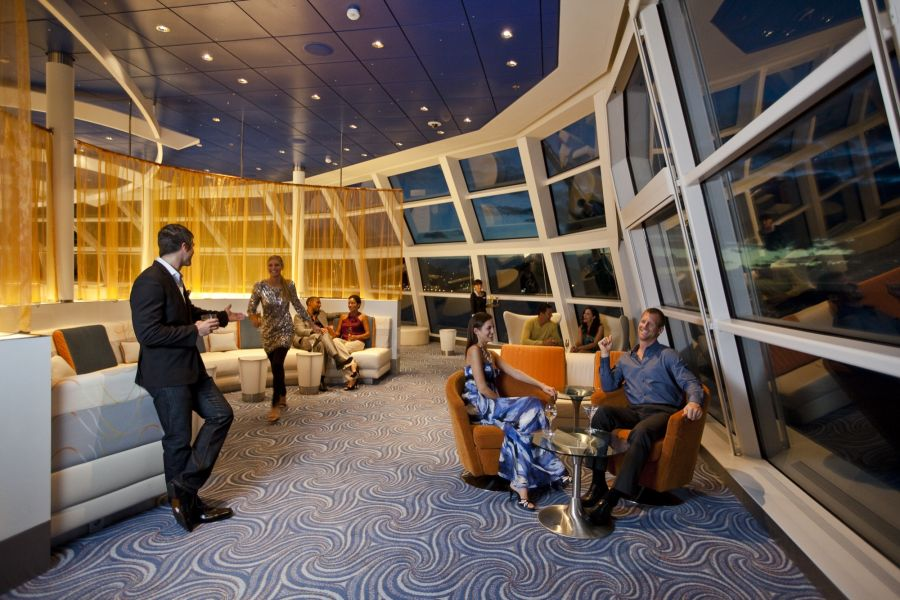 Celebrity Solstice-entertaiment-Observation Lounge