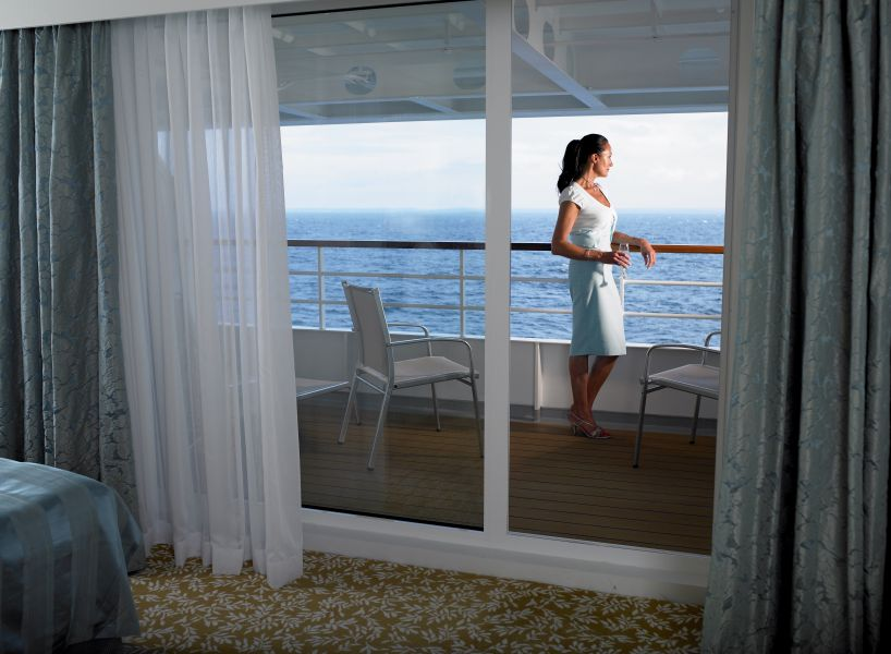 Braemar-stateroom-Single Balcony Suite