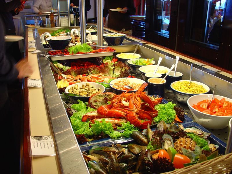 MS Vesterålen-dining-