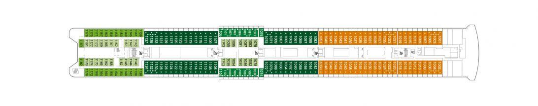 MSC Armonia Deck 10 - Tormalina