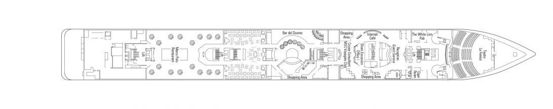 MSC Armonia Deck 5 - Rubino