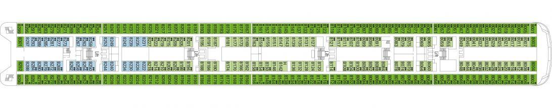 MSC Armonia Deck 8 - Smeraldo