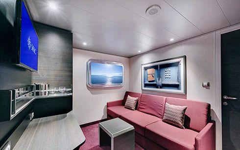 MSC Bellissima-stateroom-Interior Studio