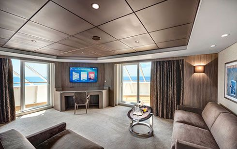 MSC Bellissima-stateroom-MSC Yacht Club Royal Suite