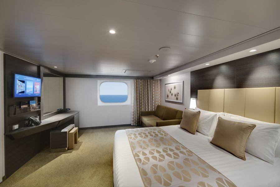MSC Bellissima-stateroom-Ocean View